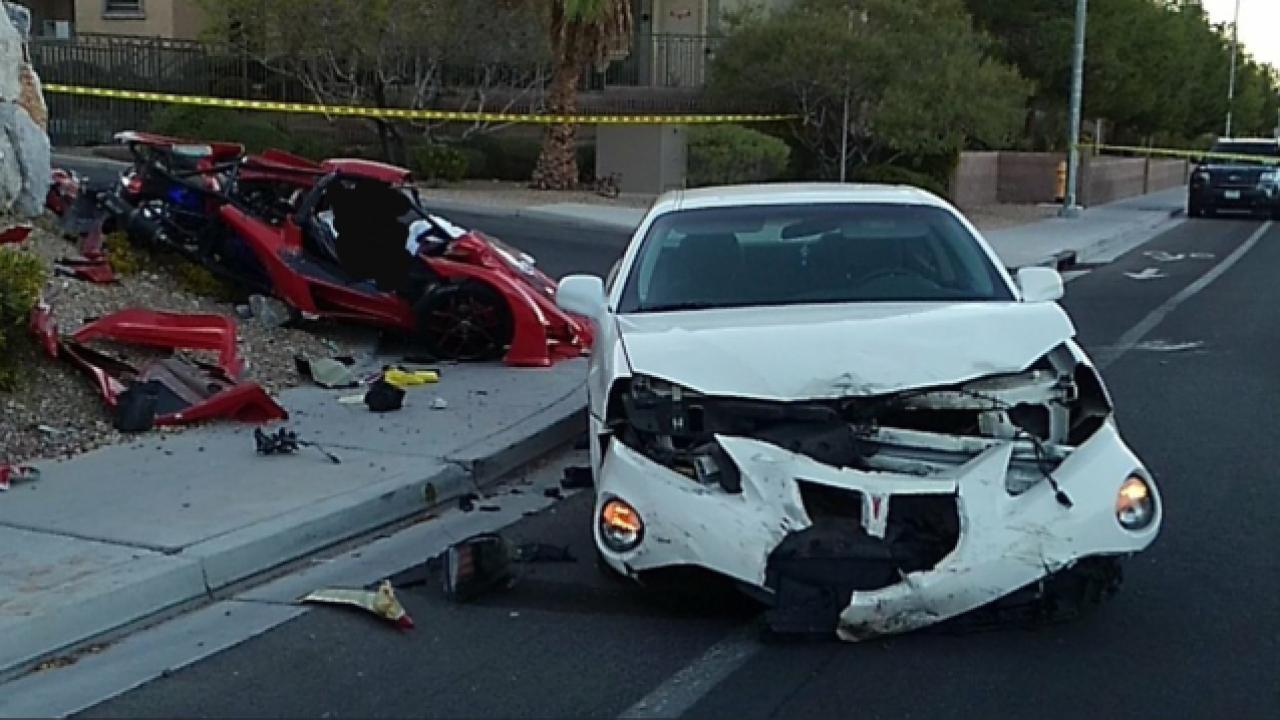 Las Vegas Car Accident >> Man Driving 3 Wheeled Vehicle Dies In Northwest Las Vegas Crash