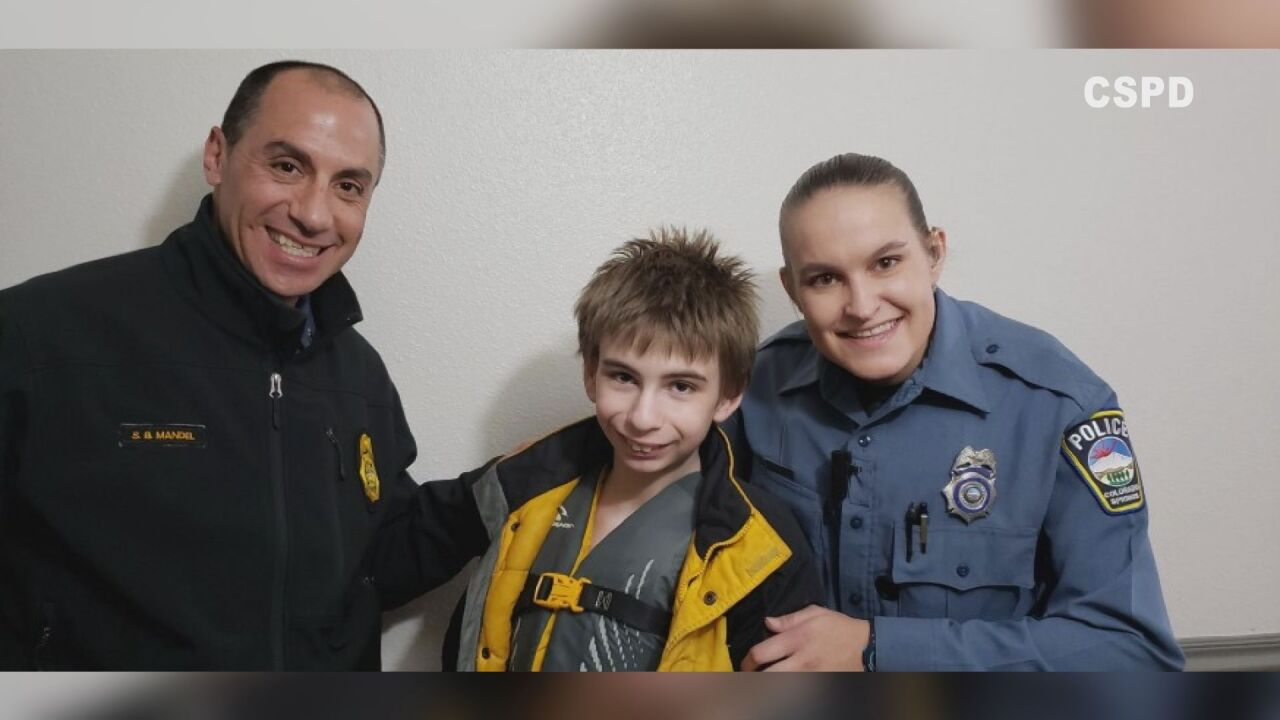 Officer helps family find son through technology