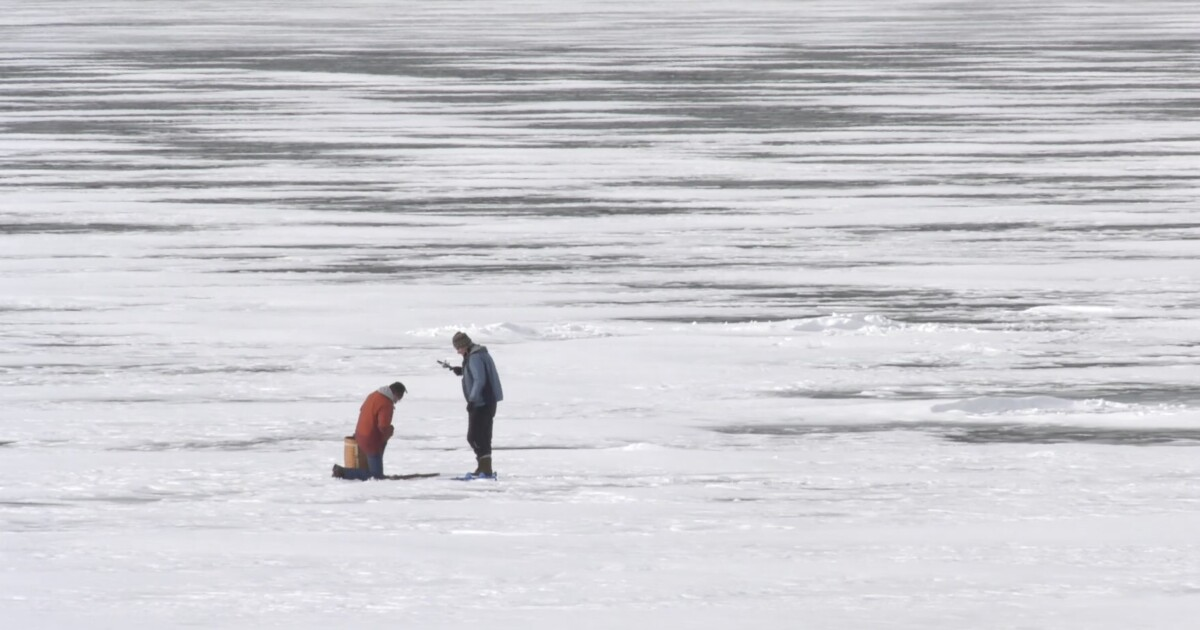 Tips for staying safe while ice fishing