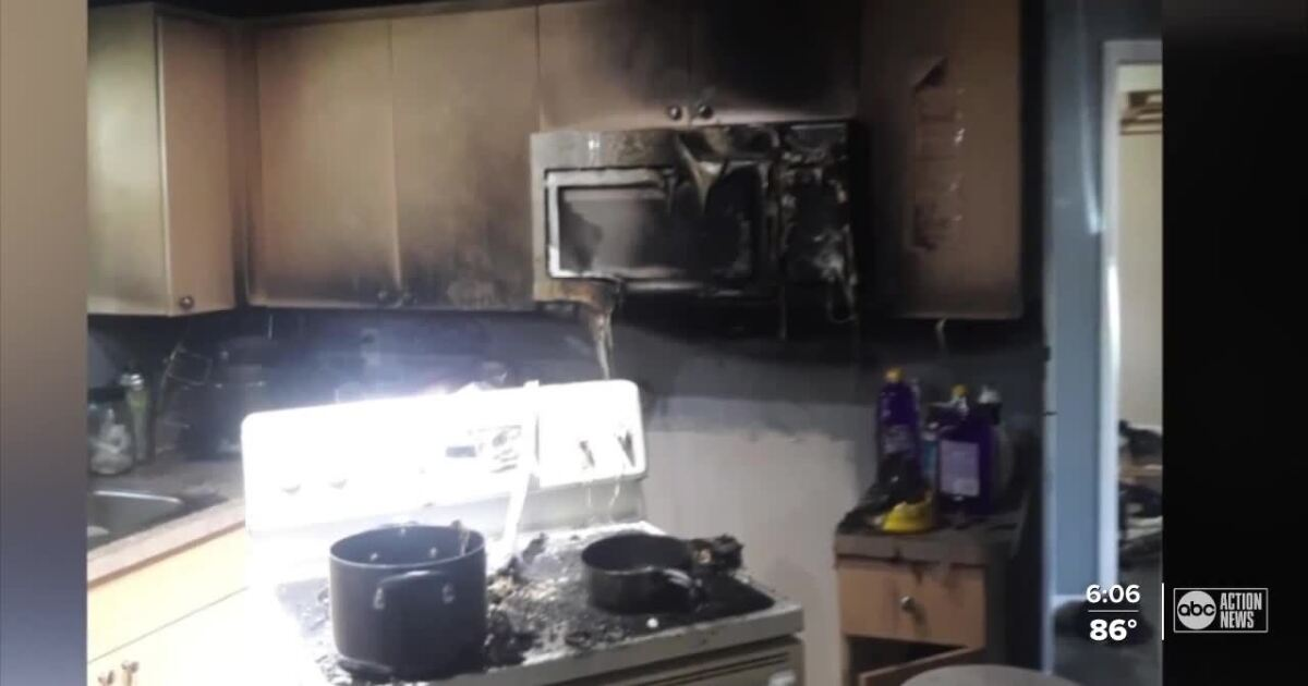 2 brothers are heroes after saving each other, house during grease fire in Pasco County