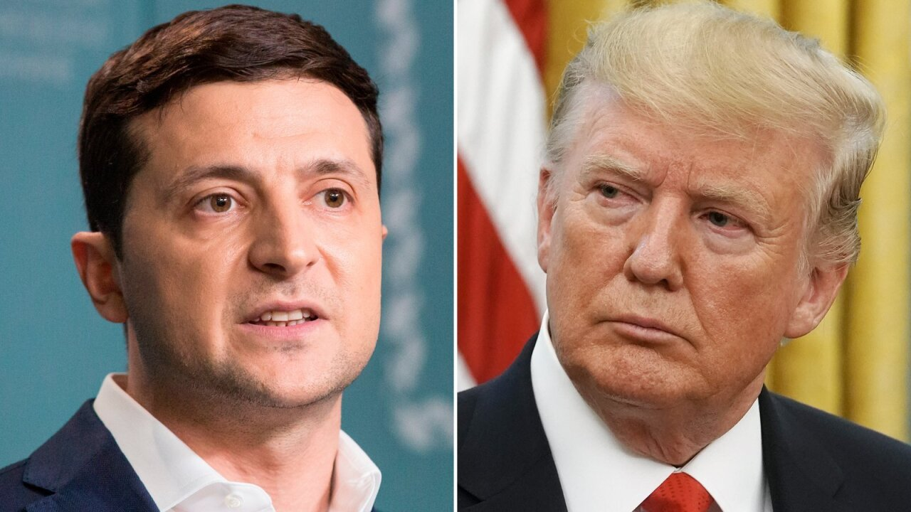 Trump claims he put 'no pressure' on Zelensky despite White House transcript