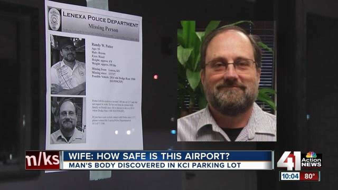 Decomposing body found in a vehicle in a KCI parking lot