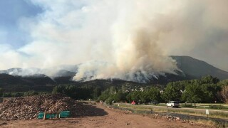 Fire that destroyed 3 homes in western Colorado contained