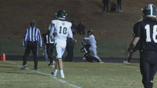Mustangs' Christian wins back-to-back Friday Football Fever Play of the Week (Week 9)