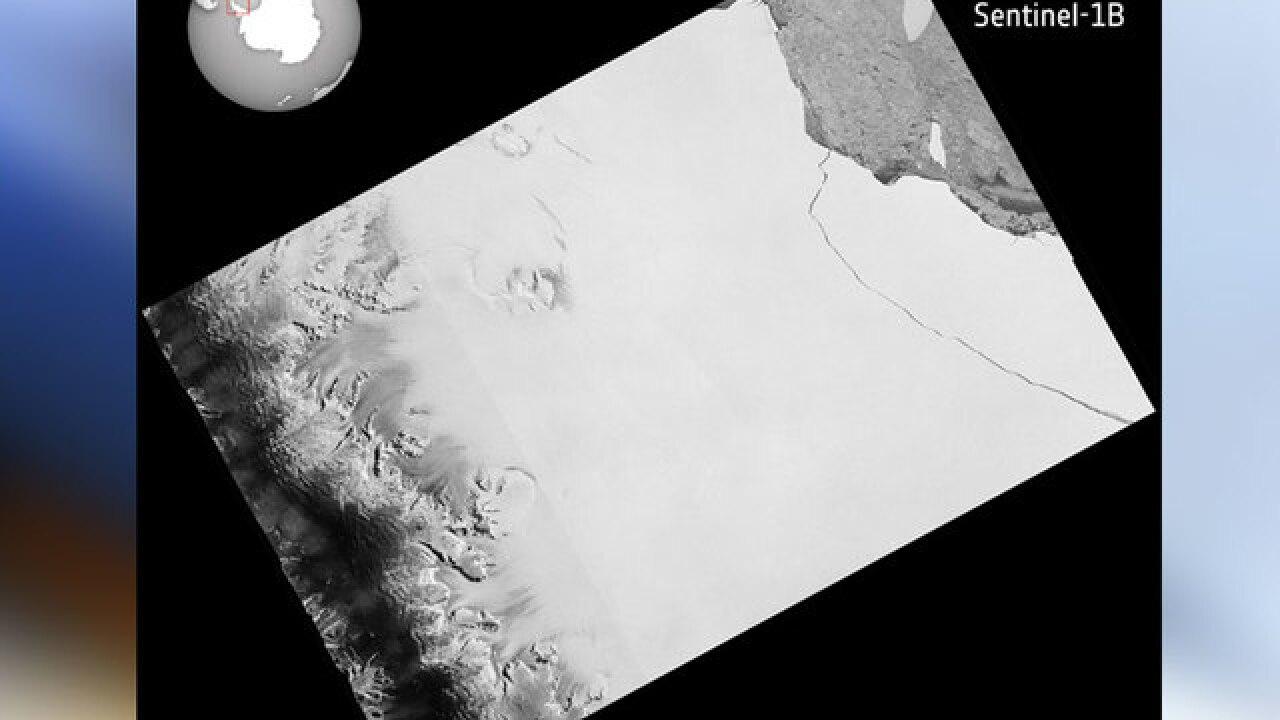 How will Antarctic iceberg impact San Diego?