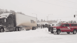 Montana Highway Patrol records 314 crashes statewide in last 24 hours due to snow