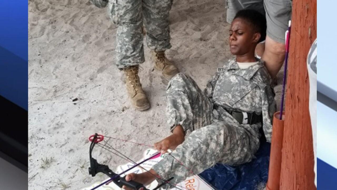 JROTC cadet born with rare condition inspires