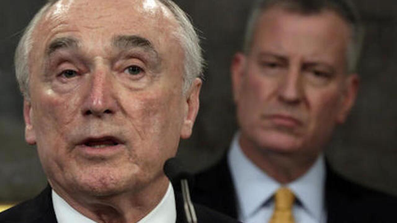 NYC Police Commissioner William Bratton stepping down