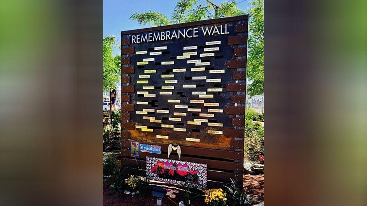 Remembrance wall - Healing Garden.jpg