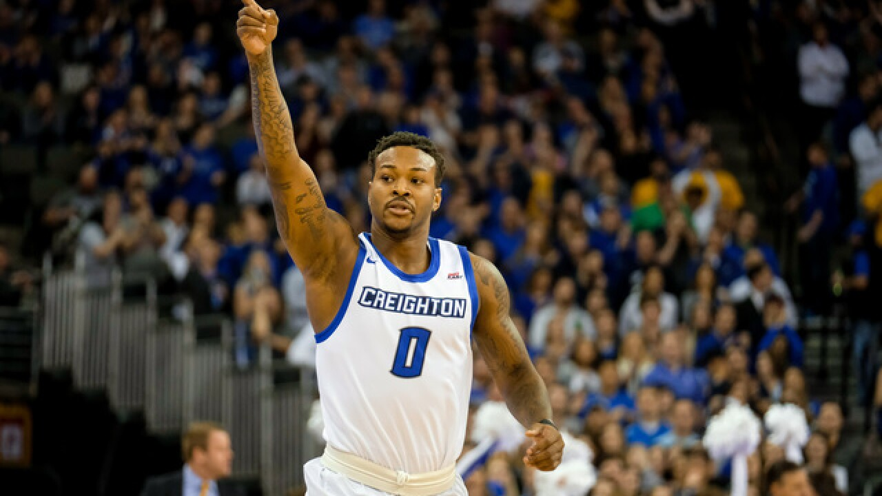 Creighton falls to No. 23 Seton Hall in BIG EAST opener