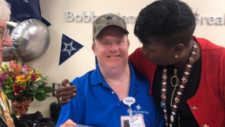 Texas town honors hospital worker with Down syndrome, names Oct. 28 'Bobby Henry Day'