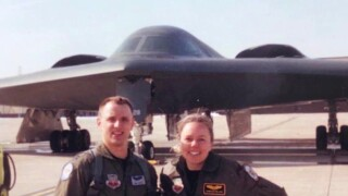 First husband-and-wife duo to fly B-2 stealth bombers retire after making history