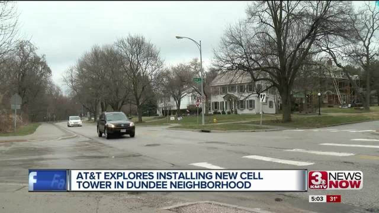 AT&T proposing cell phone tower in Dundee