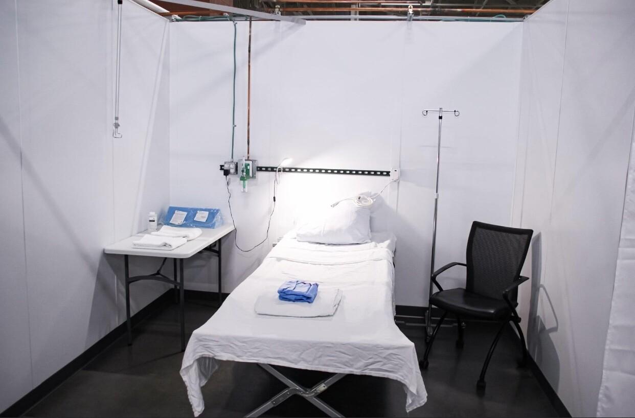 Alternate Care Facility at State Fair Park
