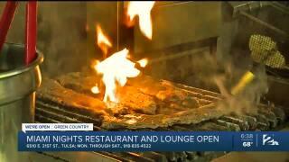 Miami Nights Restaurant Tulsa