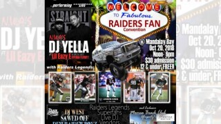 Raiders Fan Convention to take place at Mandalay Bay