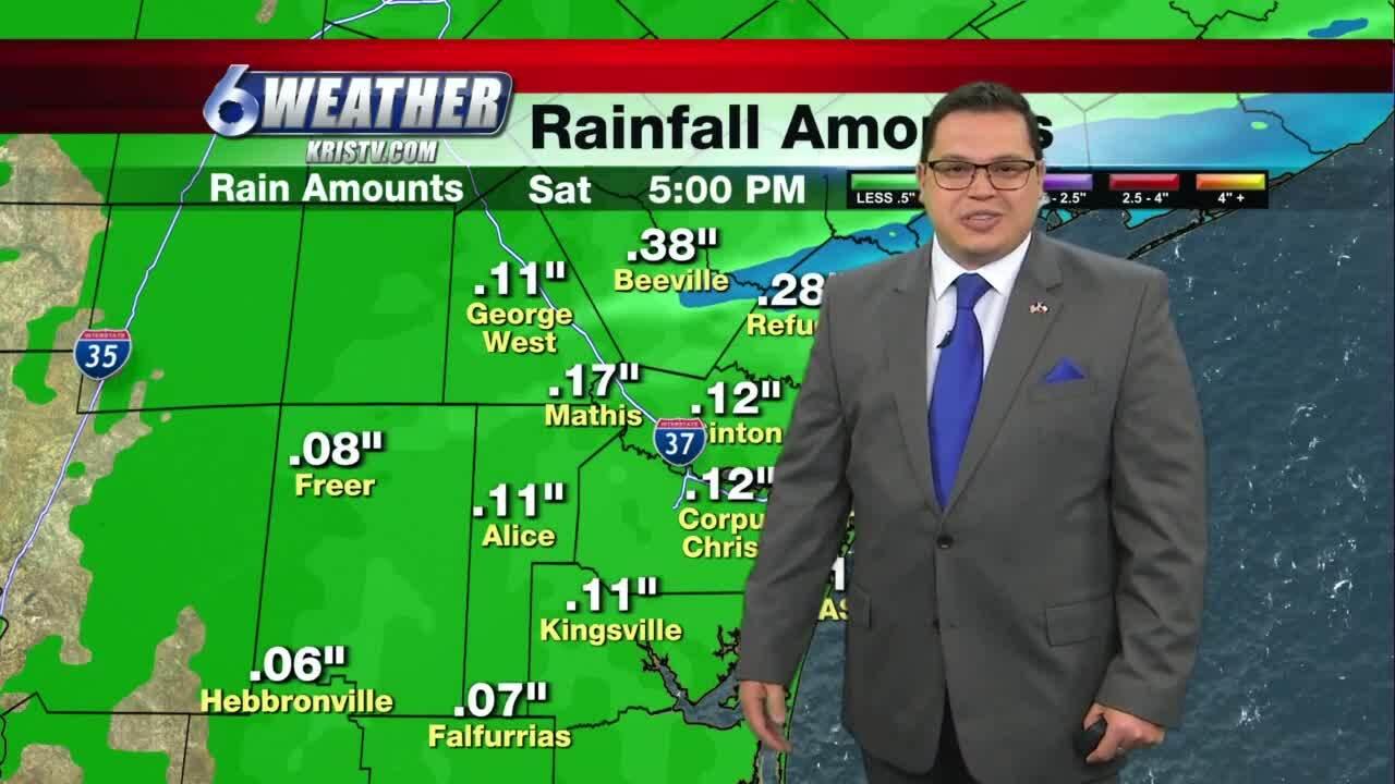 Juan Acuña's weather for Jan. 21, 2021