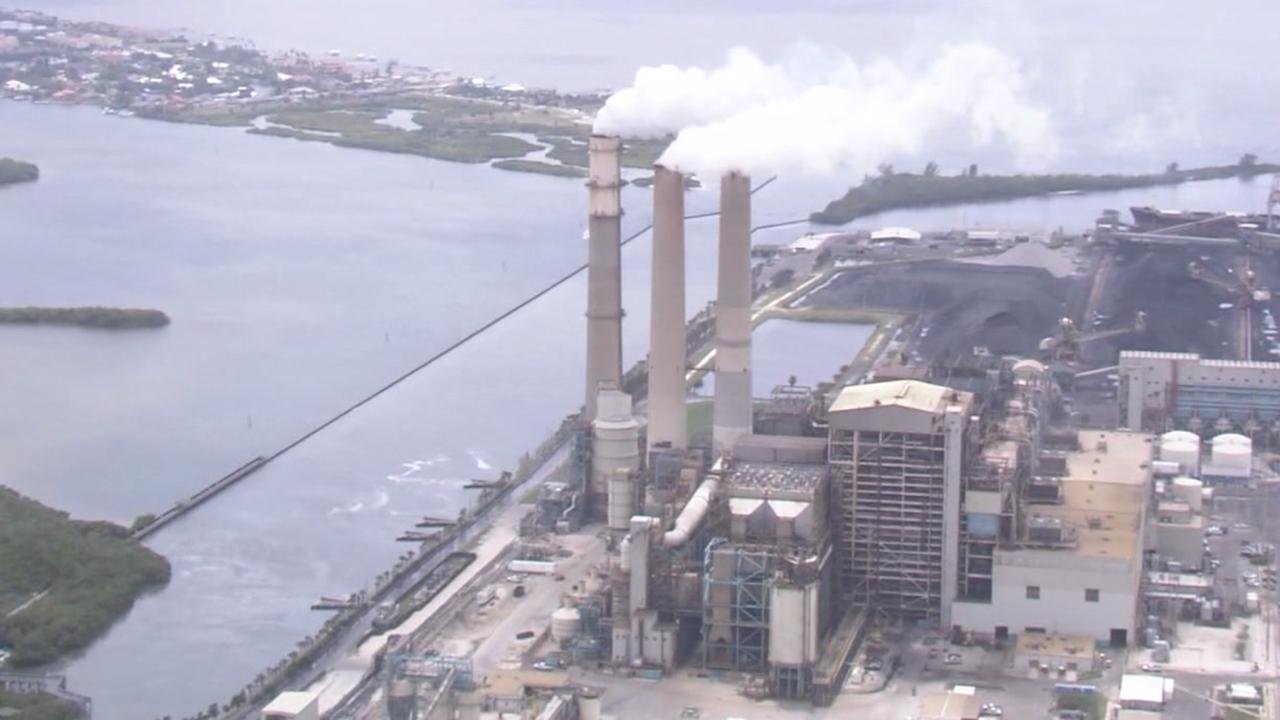 Big Bend power plant at Apollo Beach.