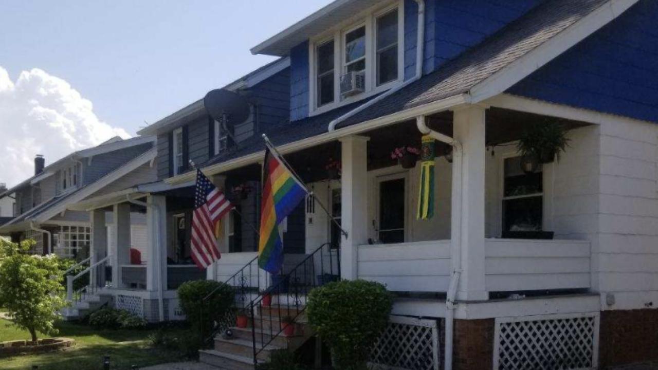 Lakewood Pride flag stolen