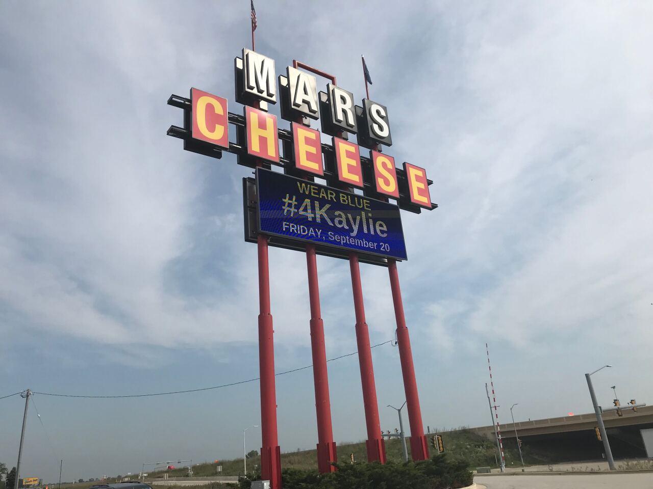 Mars Cheese Castle honors Kaylie Juga