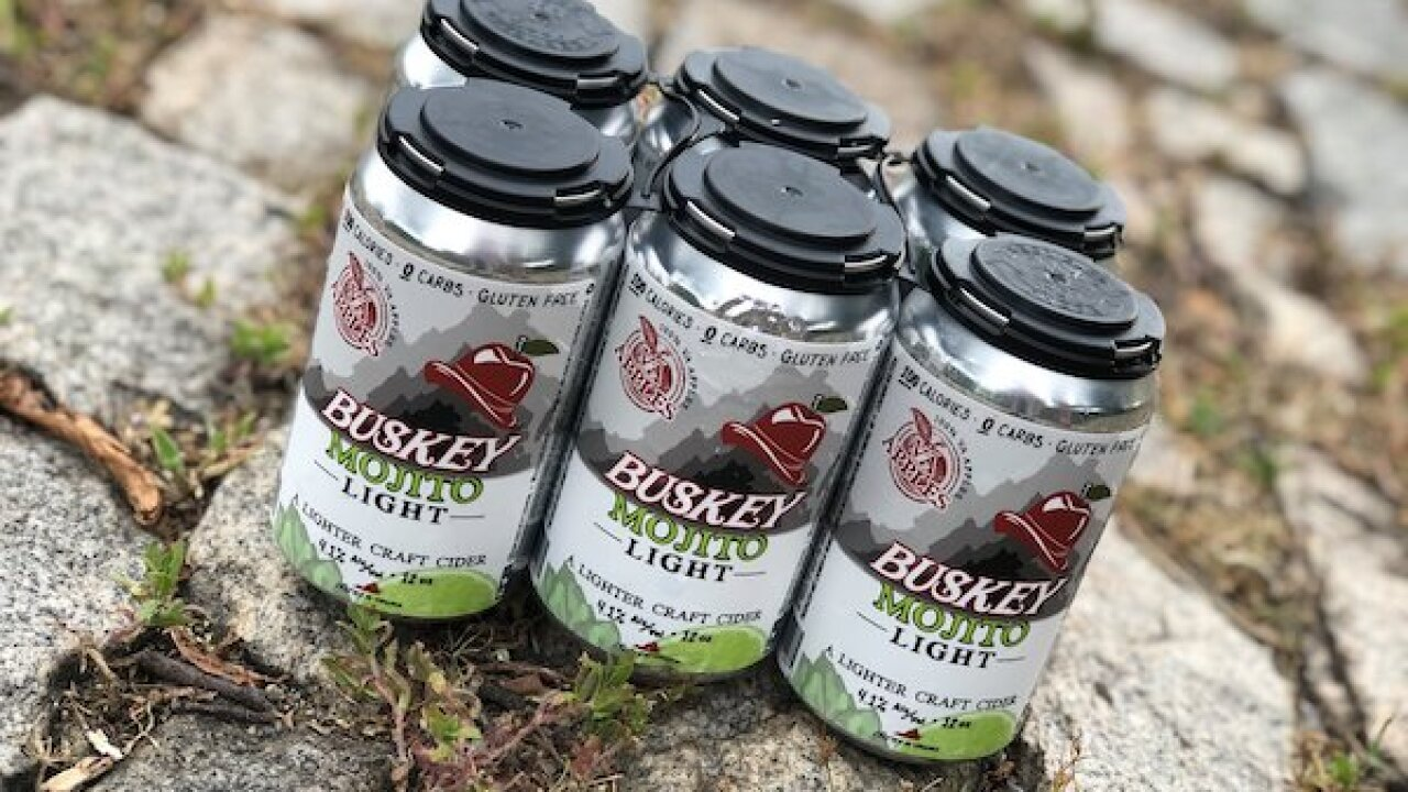 Buskey Cider now making 100-calorie mojito light cider