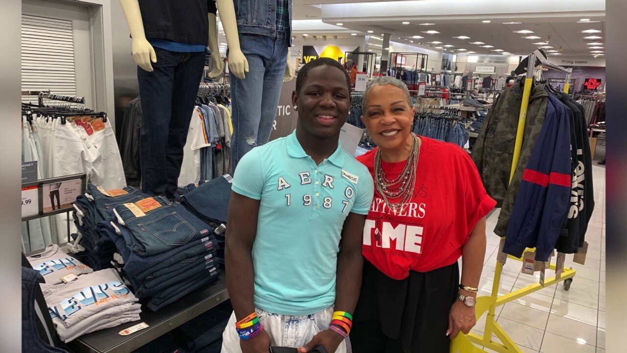 These kids got free back-to-school shopping spree to 'start the first day withconfidence'