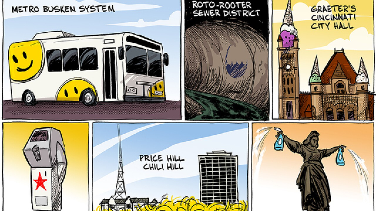 EDITORIAL CARTOON: Naming rights