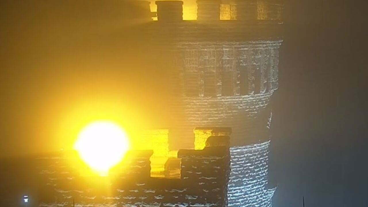 WCPO Fog at Castle