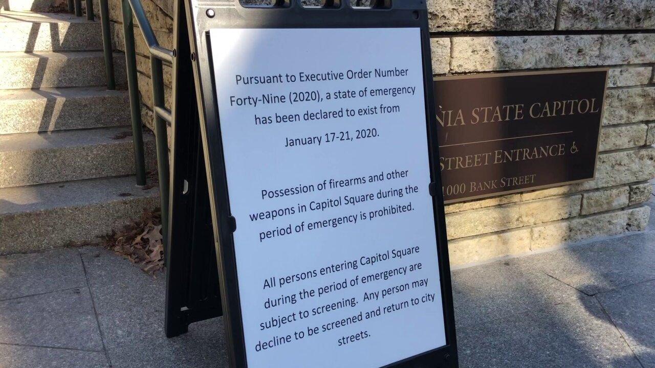 Interfaith leaders plan prayer vigil, call for peace before Richmond gun-rightsrally