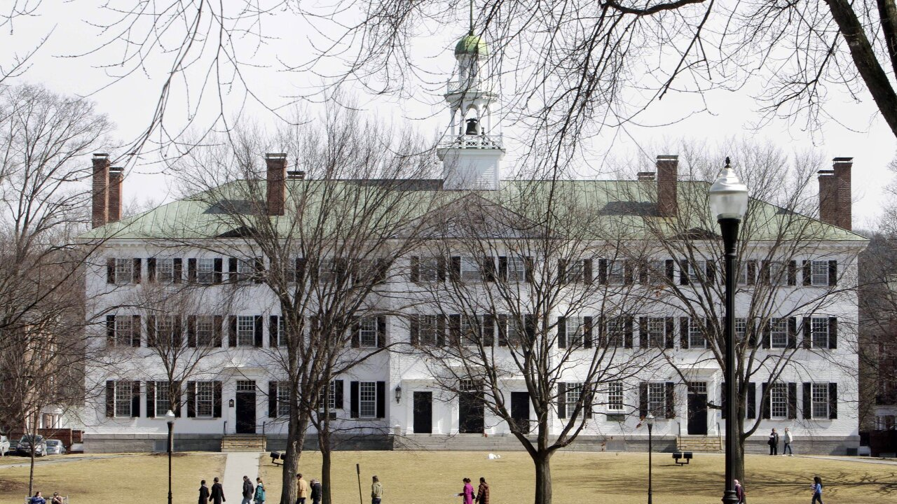 Dartmouth says letting women use pseudonyms in sexual misconduct lawsuit is burdensome and confusing