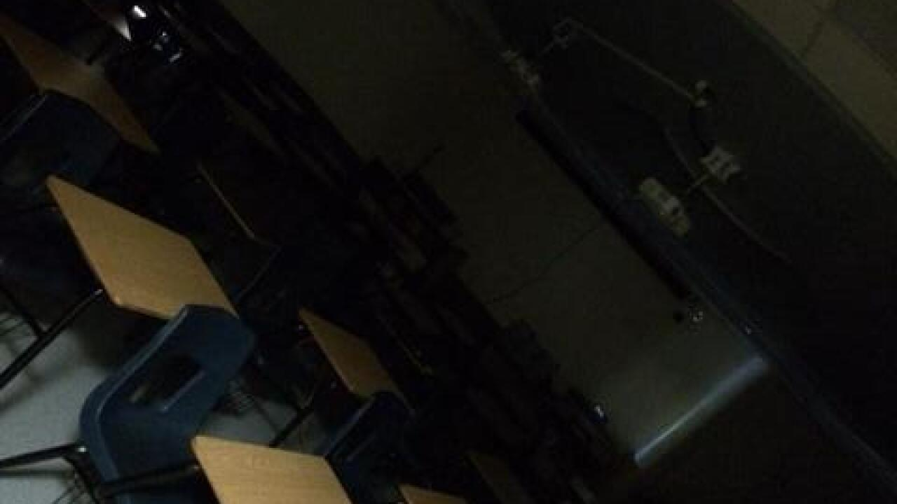 Power knocked out at Cholla High School