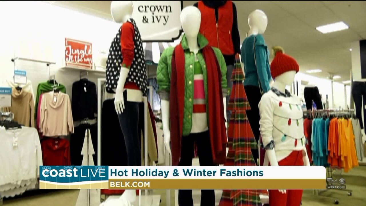 Holiday and winter fashions on Coast Live