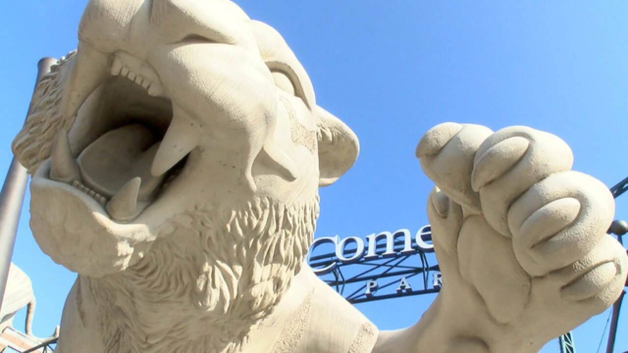 Thousands swarm Comerica Park for Tiger Fest