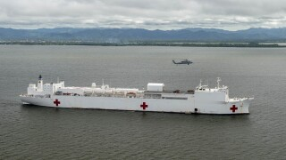 Mission stops announced for USNS Comfort