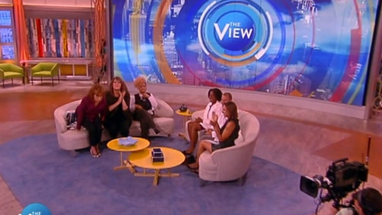Advertisers dump 'The View' over nurse comments