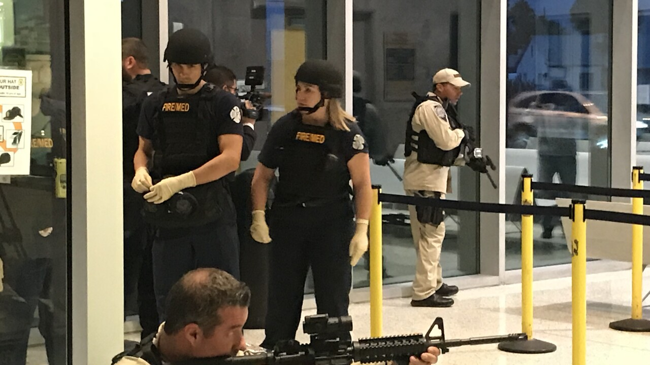 Las Vegas first responders train for active shooter