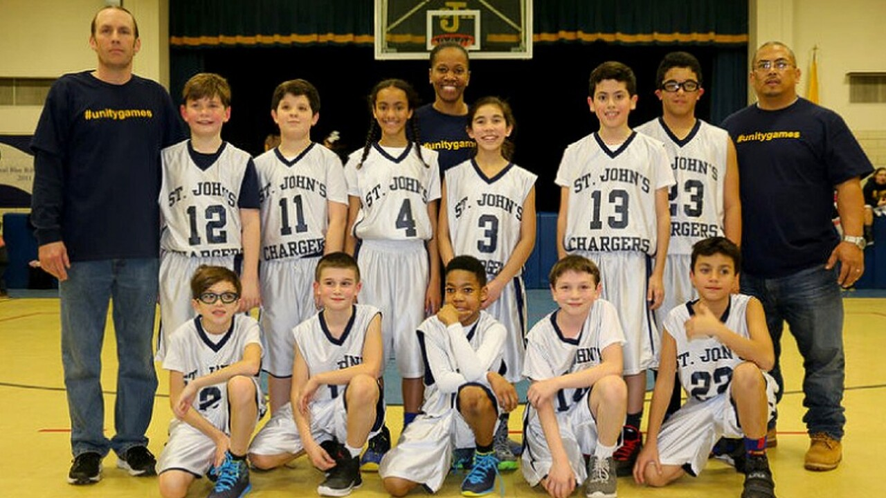 Youth basketball team forfeits rather than play without girl teammates