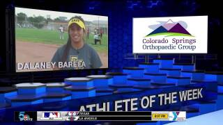 KOAA Athlete of the Week: Dalaney Barela, Pueblo East Softball