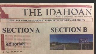"Wasden: ""The Idahoan"" qualifies as a newspaper"
