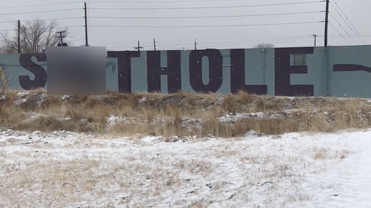 Anti-Trump 'Sh—hole' graffiti message appears in Denver