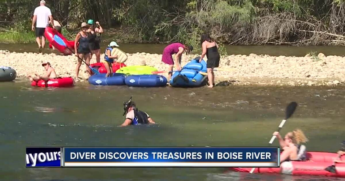 Boise River Robin Hood discovers prosthetic leg in the water