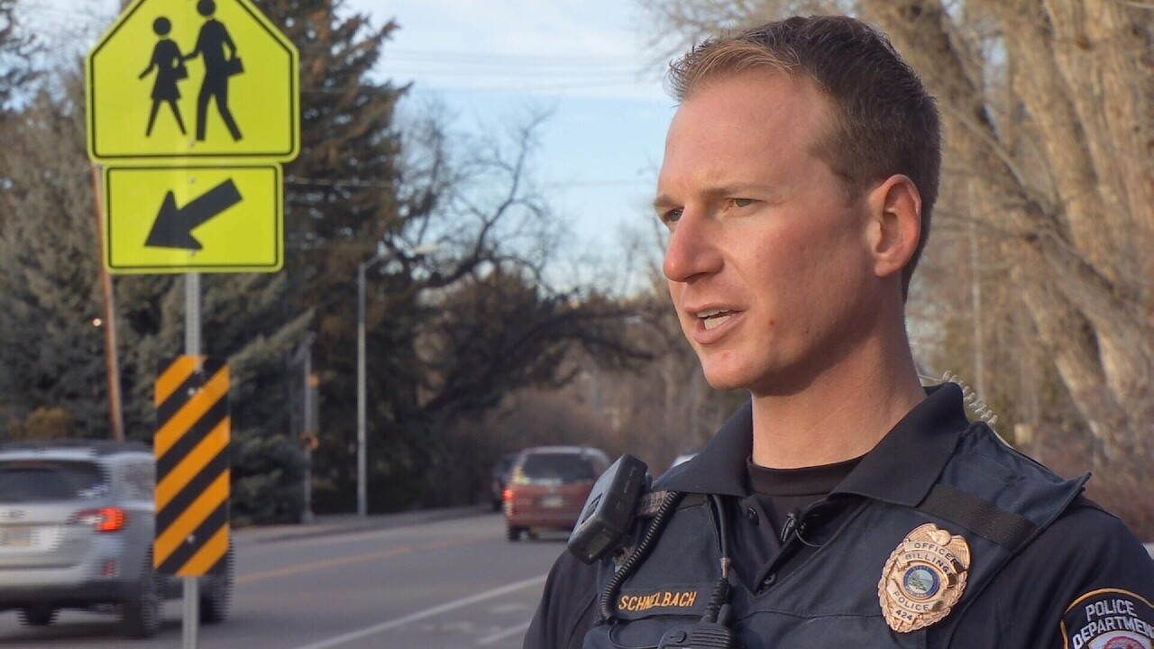 (Billings Police officer Eric Schnelbach talks the dangers of driving while high on pot)