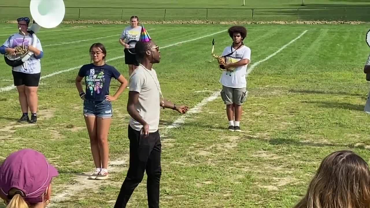 Marching Band Rehearsal