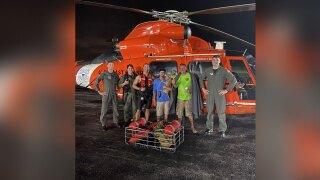 Coast Guard rescues 2 people, dog near Jensen Beach on June 30, 2021