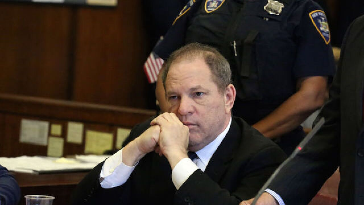 Sex trafficking lawsuit against Harvey Weinstein can proceed, judge rules