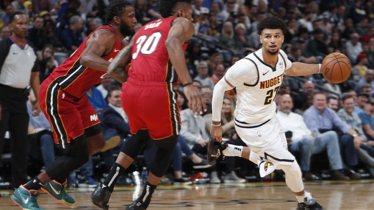 Murray scores 21 points, Nuggets beat Heat 109-89