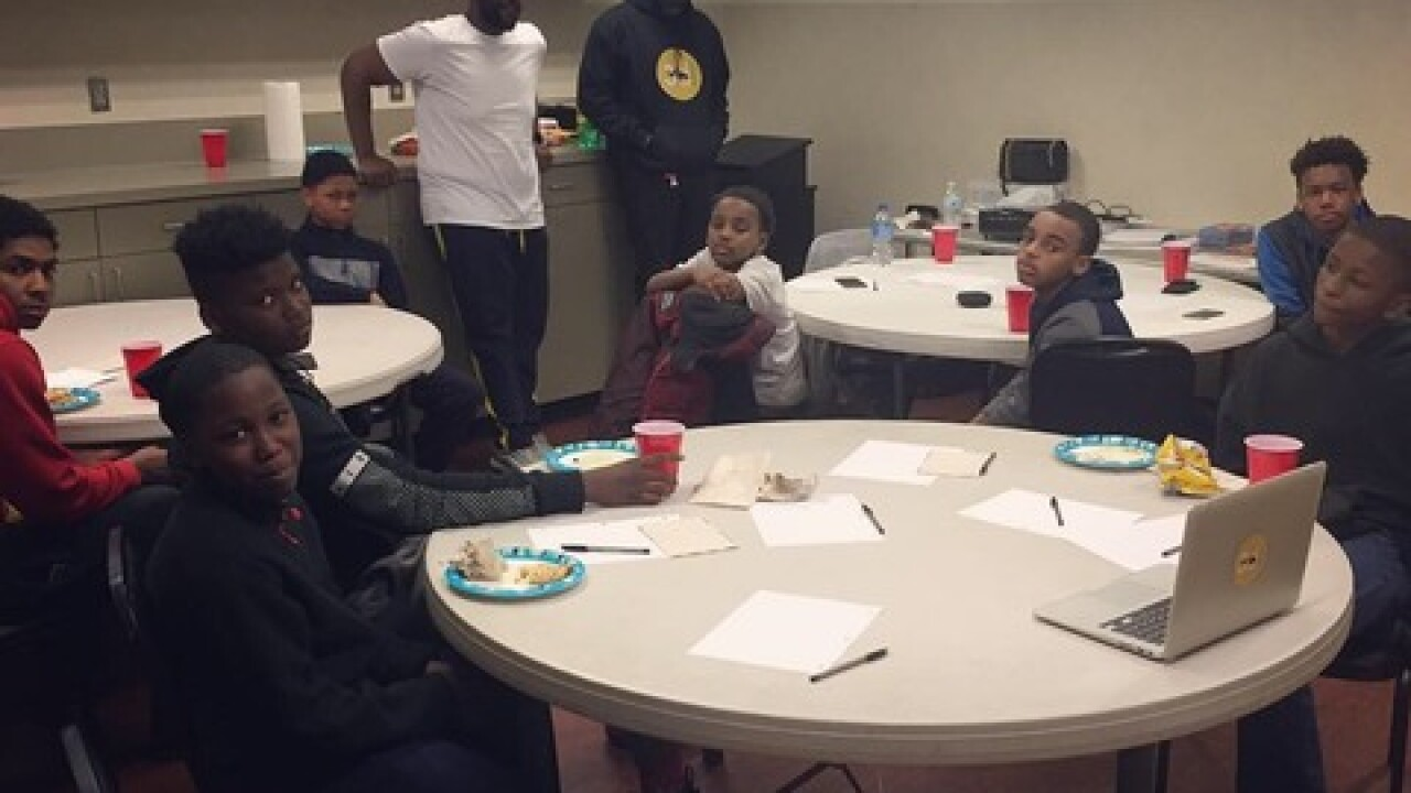 Org supports young men with incarcerated parents