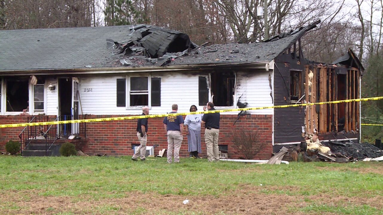 Women escape fire that 'severely damaged' Henricohome