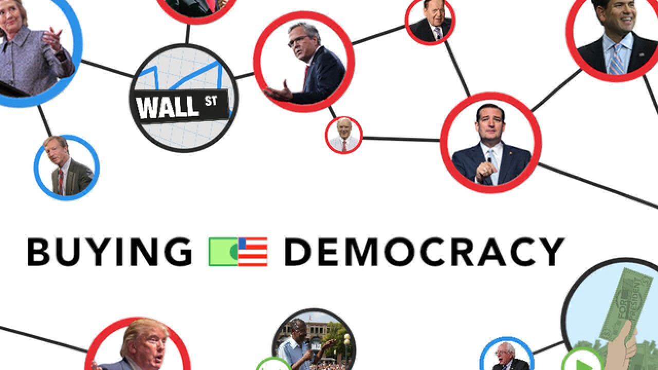 Interactive: Money sources for presidential candidates revealed