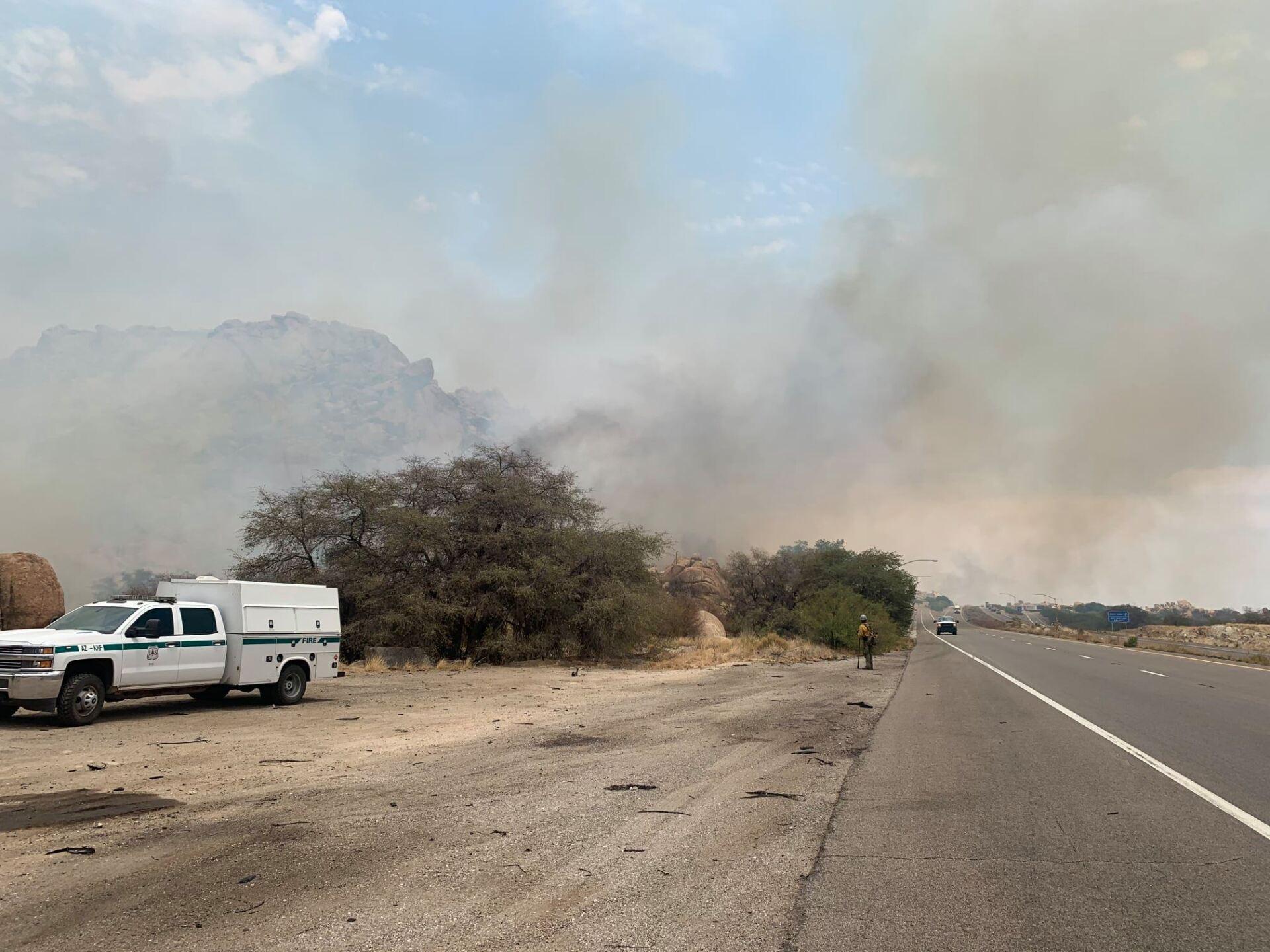 Walnut Fire - Az State Forestry